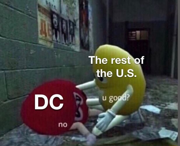 The rest of the U.S. DC memes