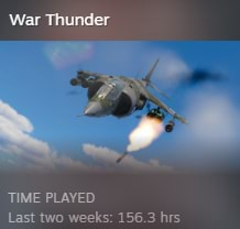 War Thunder TIME PLAYED memes