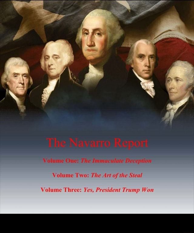 Volume Two The Art of the Steal Volume Three Yes, President Trump Won meme