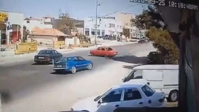 Lucky driver