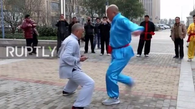 OMG, Chinese kung fu, unbelievable
