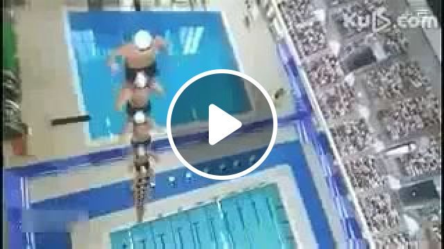 How to get to the finish line fastest in the swimming competition?