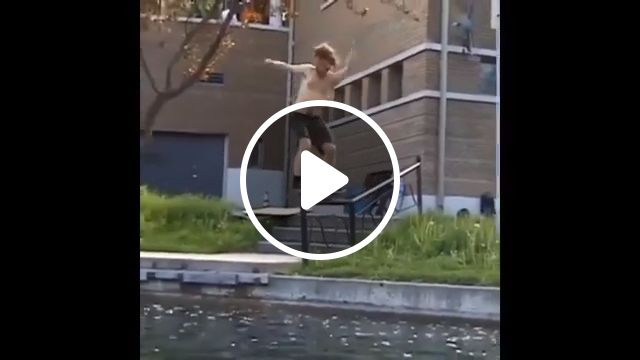 Wait for it, fish, funny, amazing, skateboard