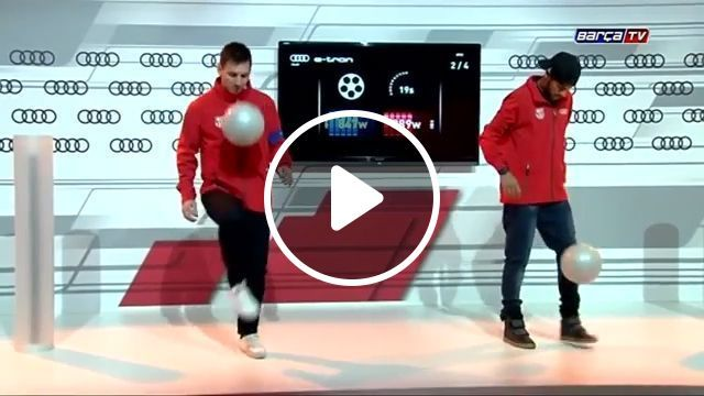 See who is the winner - Funny Videos - funvizeo.com - messi,neymar,soccer, humor, performance, talent