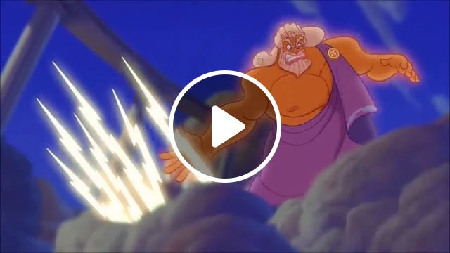 When Zeus gets angry, funny gifs, funny, zeus, thunder