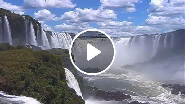 Majestic waterfall - Beautiful Nature