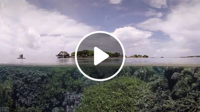 Beautiful Nature GIFs, beautiful nature gifs, underwater beauty, beautiful island