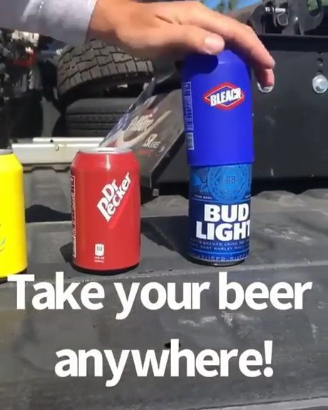 Take your beer anywhere!