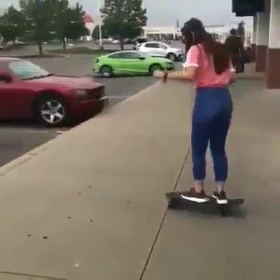 Be careful when playing skateboard, LOL