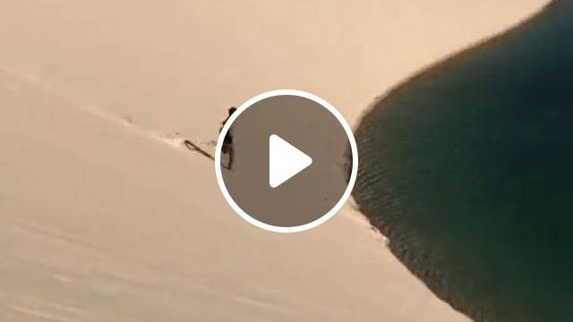 Sea In The Desert - Video & GIFs | dubai, desert, sea, beautiful nature