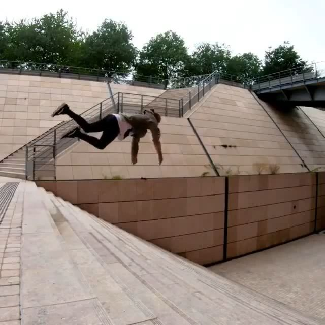 Amazing Man Parkour