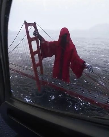 Reaper on the Golden Gate Bridge