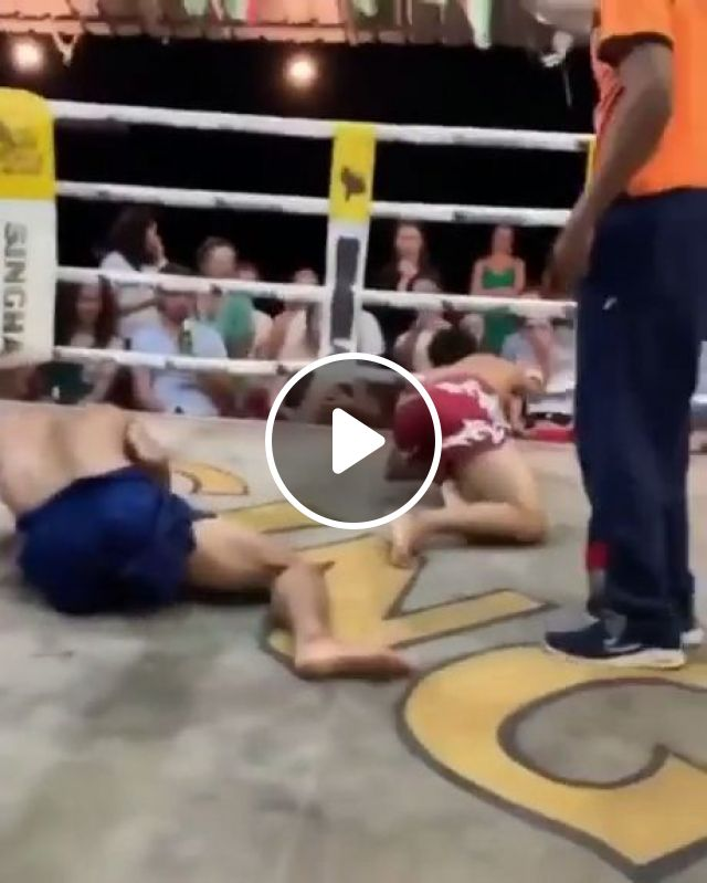 Double Knockout Gif - Video & GIFs   freestyle wrestling, knockout gif funny, funny