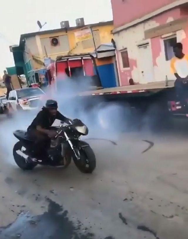 Drift Crash Gif