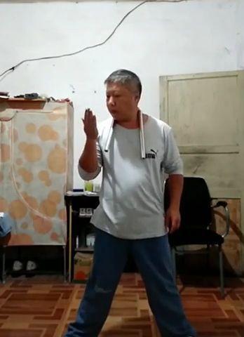 Amazing old man