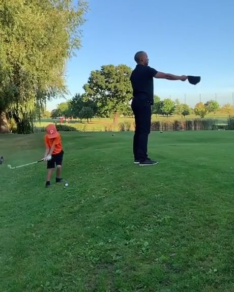 Kid Golf Prodigy - Video & GIFs | funny,little boy playing golf