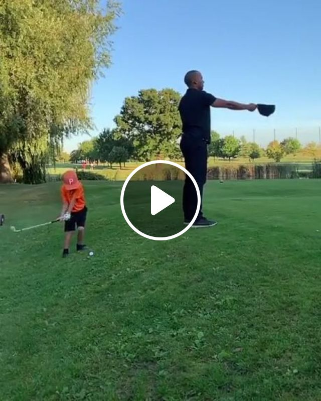 Kid Golf Prodigy - Video & GIFs | funny, little boy playing golf