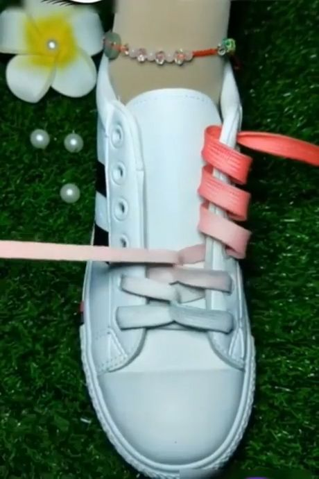 Cool ideas how to tie shoelaces