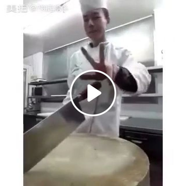 This is NOT a Basic Knife Skill, knife skill, chef, funny, restaurant kitchen, knife, wooden cutting board