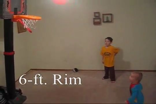 3 Year Old Amazing Basketball Prodigy