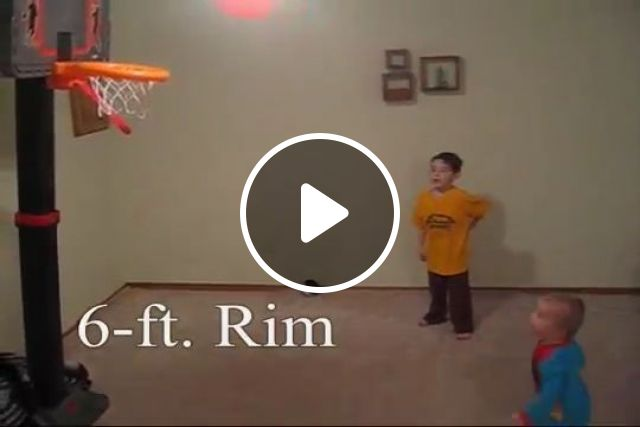 3 Year Old Amazing Basketball Prodigy, funny videos, funny, basketball, baby, talent