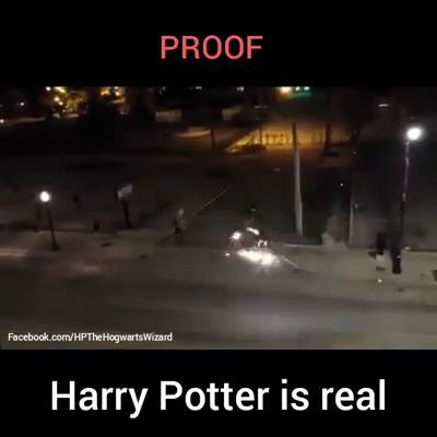 Harry Potter is real B=)