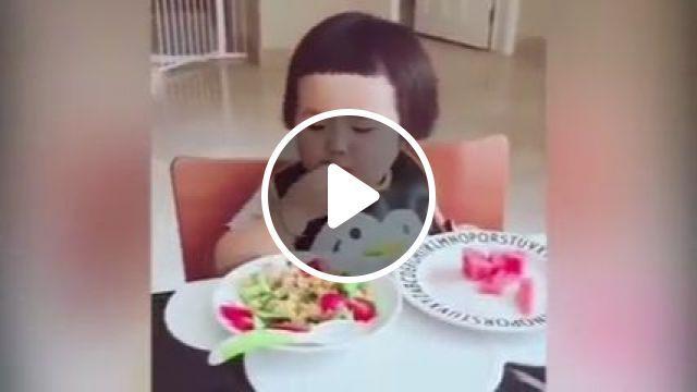 Baby super eating machine Chinese