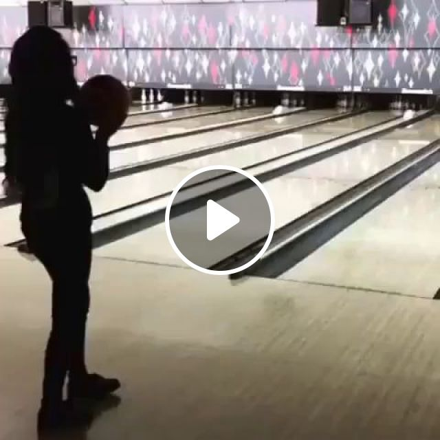 Expect The Unexpected GIF - Video & GIFs   funny, bowling, lucky