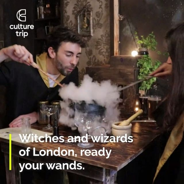 Harry Potter themed bar in London