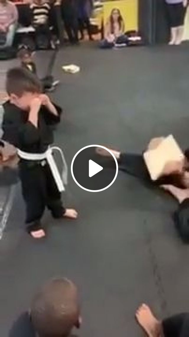This Is So Heartwarming, martial arts, funny, kid, never give up