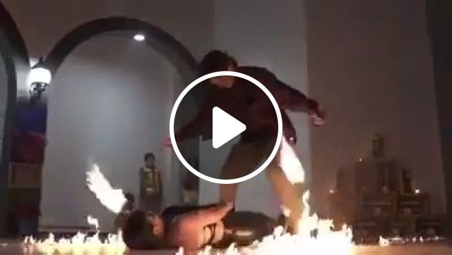 What Could Go Wrong Meme, funny, fire, funny video meme