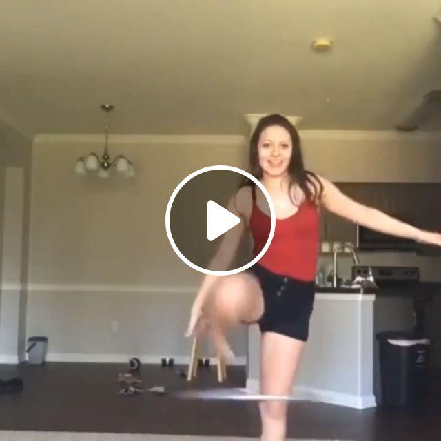 Hula Hoop Girl - Video & GIFs   funny, hula hoop, fitness