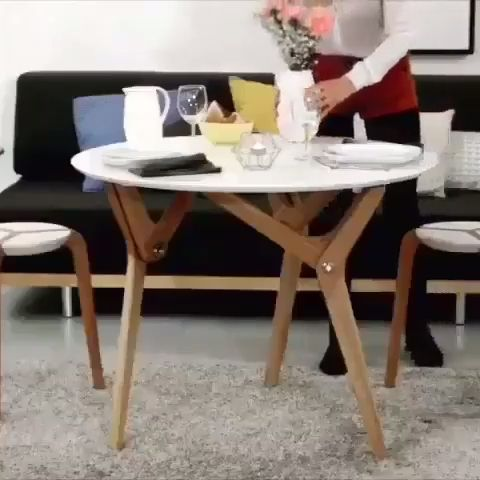 Creative Wooden Table - Funny Videos - funvizeo.com - furniture,home decor,wood table
