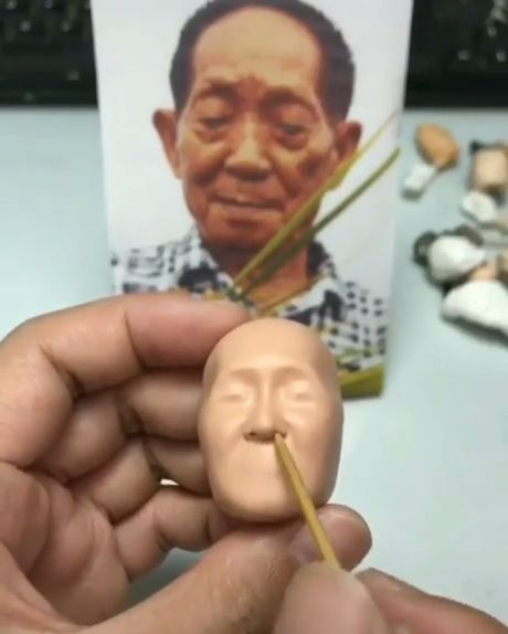 How to Make a Clay Portrait Sculpture
