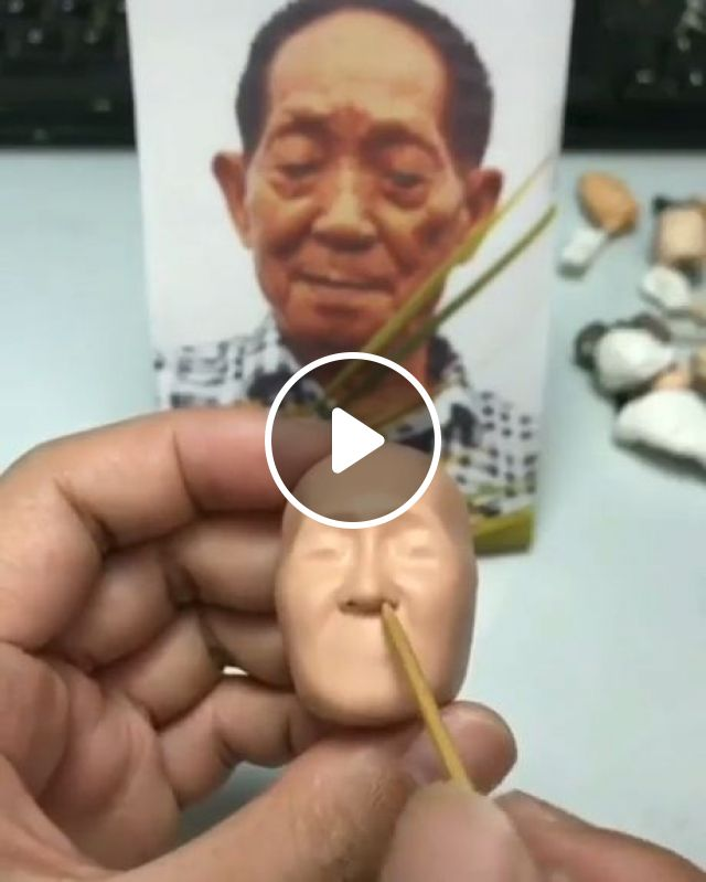 How to Make a Clay Portrait Sculpture, clay portrait, art, funny, artist