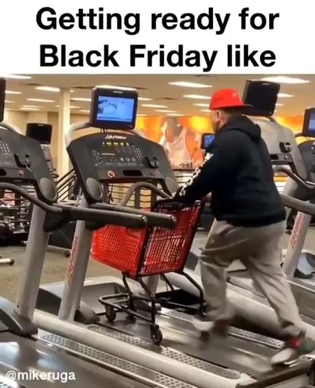 Getting Ready For Black Friday Meme