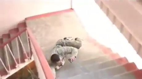 Why You Shouldn't Mess With Russian Army - Funny Videos - funvizeo.com - russian army,funny,stairs