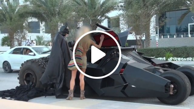 Batman's Car, batman, robin, car, funny