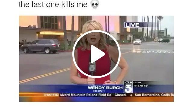 The last one kills me, mc, reporter, funny, cinematic stage, news