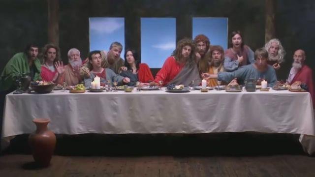 The Last Supper by Leonardo Da Vinci, lol - Funny Videos - funvizeo.com - the last supper, leonardo da vinci, funny, artist, painting