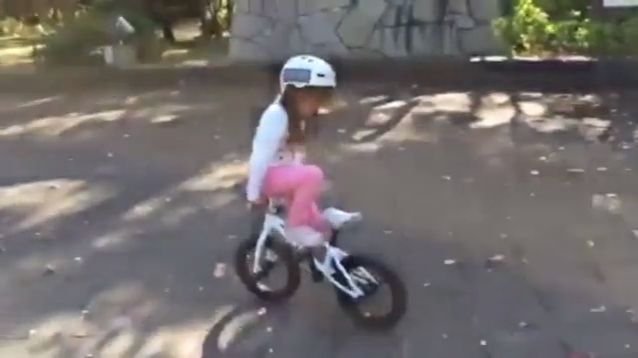 Small in age, big on talent - Funny Videos - funvizeo.com - kid, talent, bicycle, funny