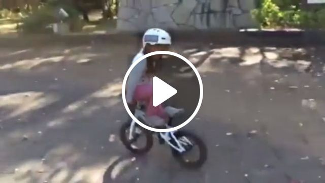 Small in age, big on talent, kid, talent, bicycle, funny