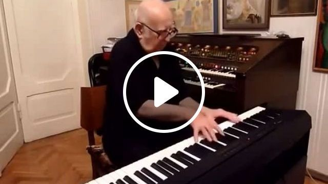 Grandfather's favorite music, music, piano, talent, grandfather