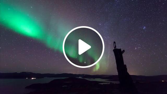 Beautiful Auroras GIFs - Beautiful Nature, beautiful nature, sky, night