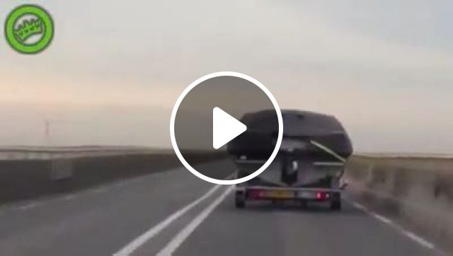 Super rapper on the highway, funny gifs, funny, funny rapper, truck