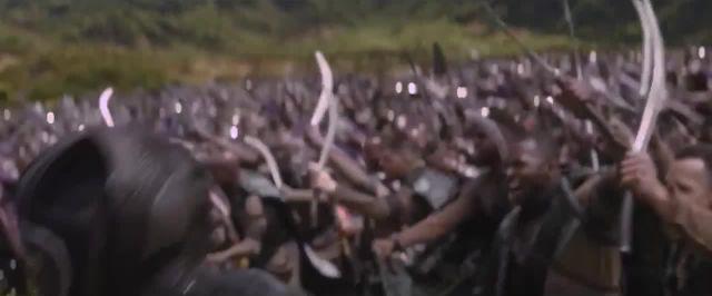 The Gungan Army vs. Wakanda meme - Video & GIFs | Gungan army meme,wakanda meme,avengers meme,avengers infinity war meme,star wars meme,звёздные войны meme,мстители meme,мешап meme
