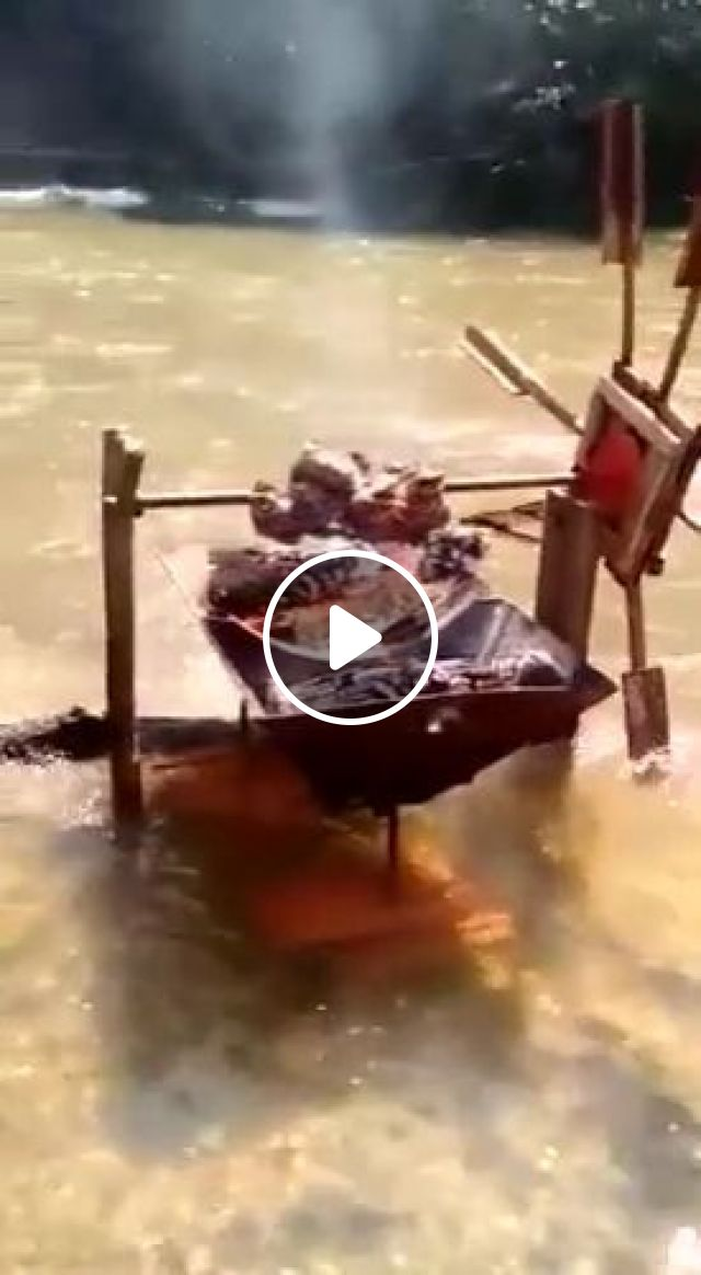 Grilled meat on the river, grilled meat, river bbq, funny, camp, nature tourism, river, picnic