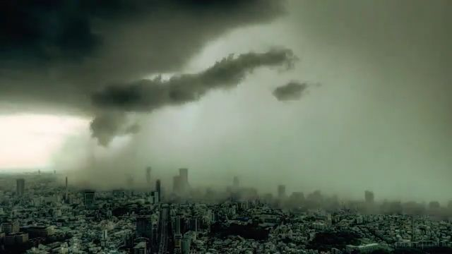 Rain City - Funny Videos - funvizeo.com - rain, city, cloud, funny