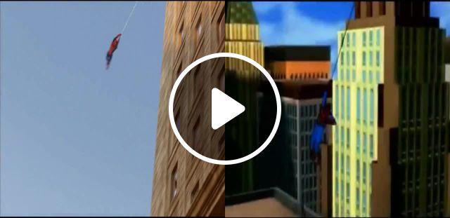 Spider Man Meme - Video & GIFs | Split screen meme, hybrid meme, hybrid meme, vlad spaceman meme, spider man 1994 meme, marvel universe meme, marvel meme, mashup meme