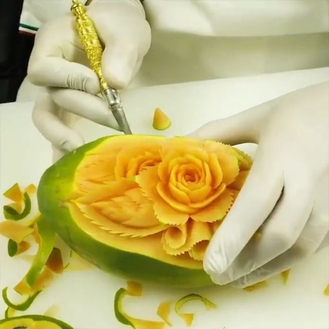 Fruits and Vegetable Carving the Art of Chef